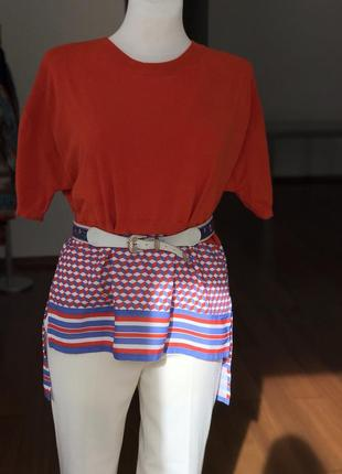 Ассиметричная блуза elisabetta franchi италия 🇮🇹