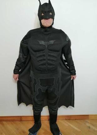 Костюм карнавальный batman, the dark knight, ,сост. отличное!