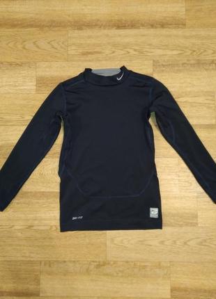 Компрессионная футболка nike pro combat рашгард