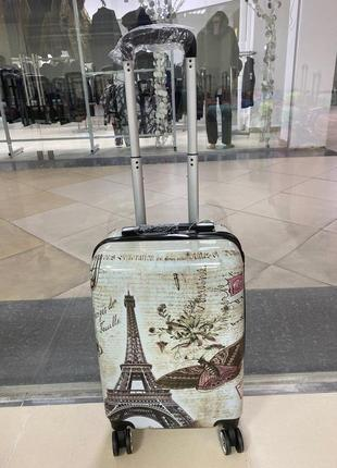 Чемодан сумка валіза на колесах дорожная поликарбонат польша