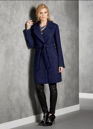 Стильное женское пальто esmara premium collection 25% шерсти