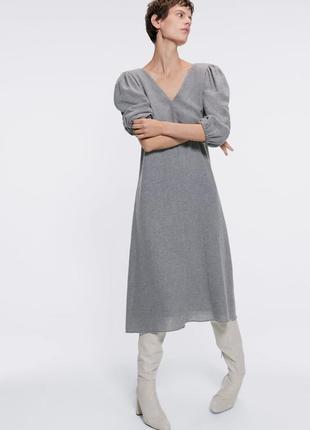 Очень стильное платье zara