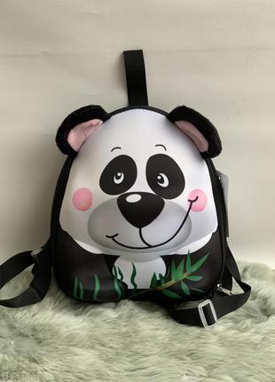 3d детский рюкзак панда