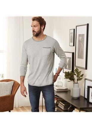 Мягкий тонкий свитер пуловер livergy германия размер м