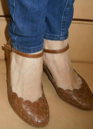 Туфли в подарок/натуральная кожа