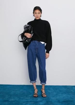 Джинсы z1975 authentic slouchy jeans zara