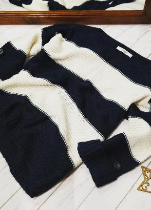 Джемпер пуловер кофточка грубой вязки george