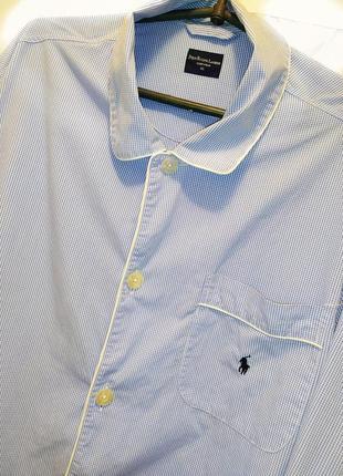 Polo ralph lauren рубашка пижама размер 2xl