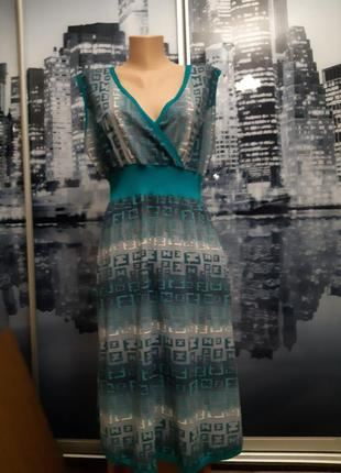 Платье бирюза