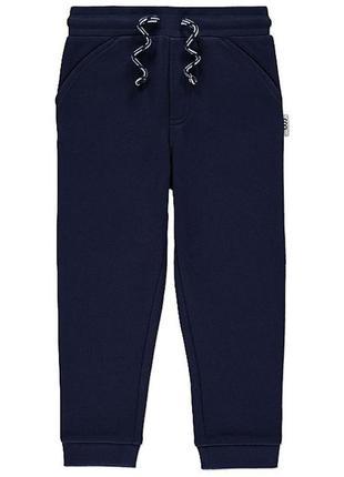 Спортивные штаны,штаны на флисе, джоггеры для мальчика george, размер 92-98, 2-3 г