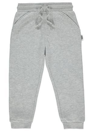 Спортивные штаны, штаны на флисе, джоггеры для мальчика george, размер 92-98, 2-3 г