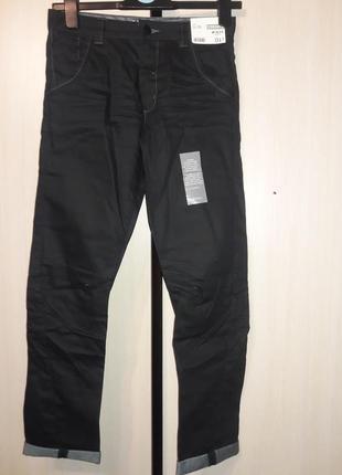 Крутейшие джинсы на мальчика. george. англия. р 10-12 лет. с покрытием под кожу