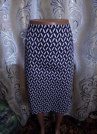 Стильная юбка с геометрическим принтом bhs