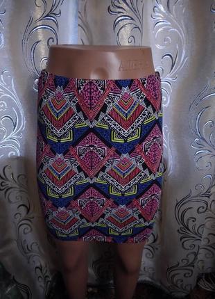 Яркая женская юбка new look