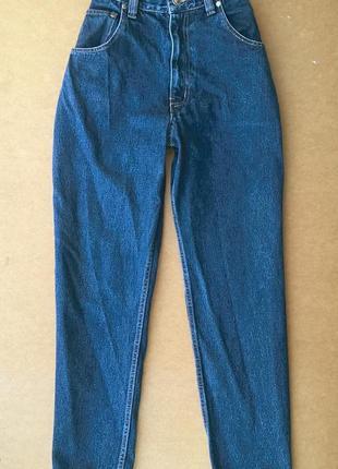 Мом джинсы высокая посадка бойфренды edge