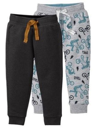 Спортивные штаны на мальчика с начесом фирмы lupilu