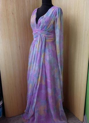 Оригинальное платье со шлейфом mohr kleider