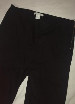 Брюки джинсы скини с замочком h&m