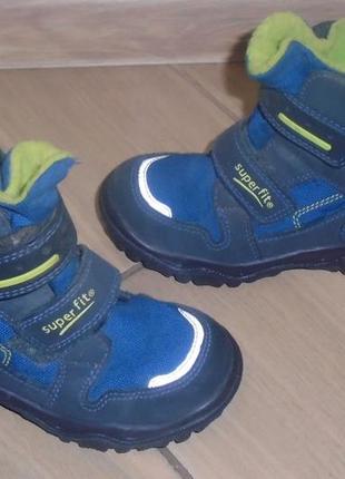 Зимние термо ботинки superfit gore tex 27 р