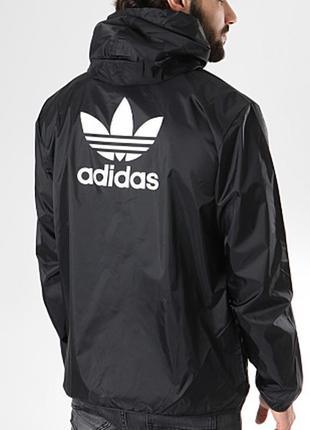Оригинальная курточка adidas originals trefoil windbreaker shell jackets
