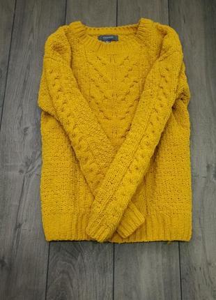 Яркий вязанный свитер primark