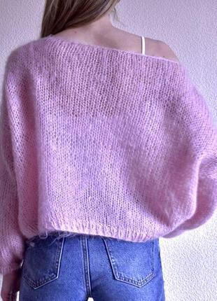 Вязаны свитер оверсайз