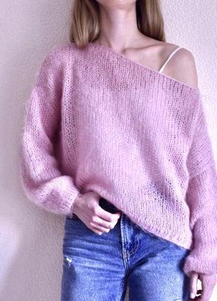 Вязаны свитер оверсайз2 фото
