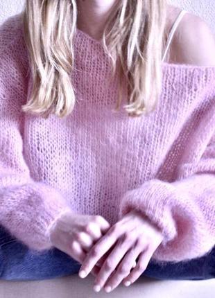 Вязаны свитер оверсайз3 фото