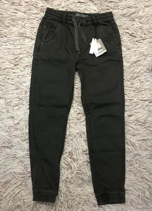 Стильные джоггеры джинсы штаны для мальчика 9-10лет 134-140рост