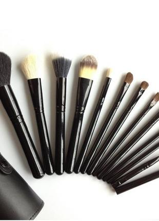 ‼️ прекрасного качества набор кистей для макияжа 12 шт.