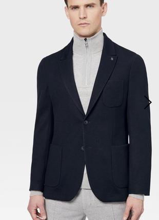 Жакет повседневный шерстяной стильный модный дорогой бренд германии bogner размер xxl