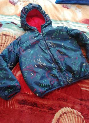 Двухстороння куртка на хлопчика