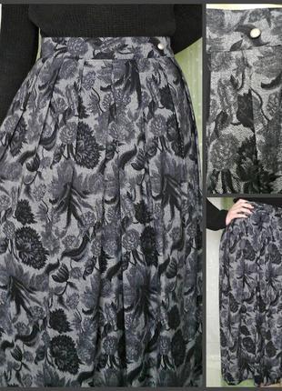 Шикарная теплая юбка  на подкладке (шерсть+вискоза) сделана в англии