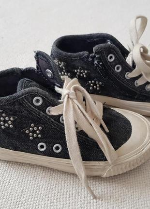 Стильные кеды кроссовки zara