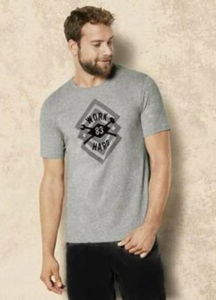 Мужская пижама дома шорты футболка р.евро 56 58 xl livergy германия  костюм для