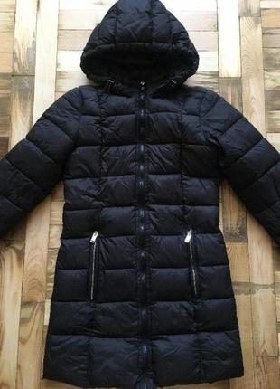 Пуховик куртка дутая пальто стеганая
