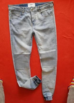 Стильные мужские джинсы sixth june 33 в прекрасном состоянии