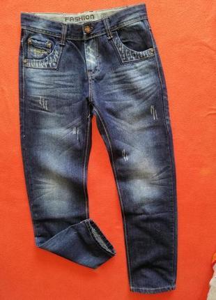Красивые джинсы подростку f&d 164 в новом состоянии