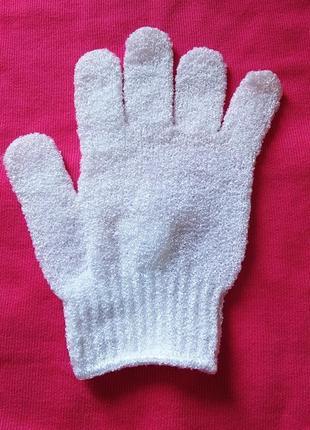 Перчатка мочалка primark, рукавица, рукавиця