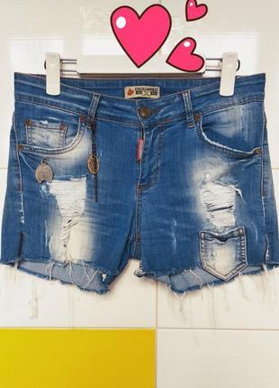 Шорты джинсовые dsquared