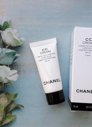 Тональный chanel cc cream