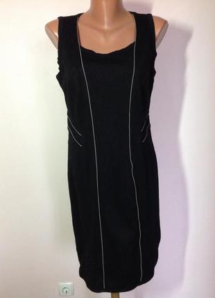 Трикотажное платье - футляр-l- xl/ brend marc cain