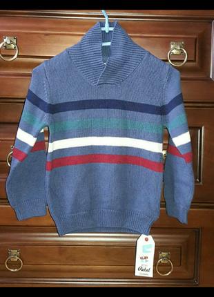 Вязаная кофта свитер на мальчика ирландской фирмы primark