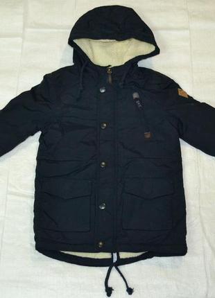 Демисезонная куртка-парка на подкладке для мальчика (f&d, венгрия)