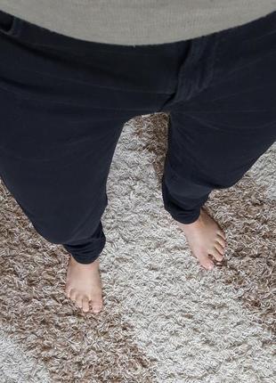 Черные джинсы слимы zara original