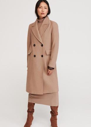 Длинные классические  пальто