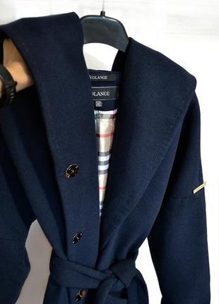 Кашемировое пальто с шерстью