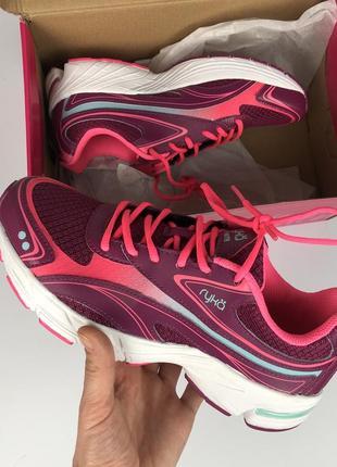 Ryka infinite raspberry прекрасные легкие кроссовки для спорта