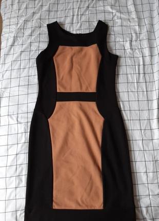 Офисное, вечернее платье в обтяжку (футляр)