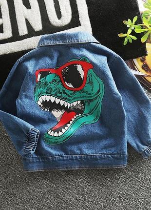 Очень крутой джинсовый жакет